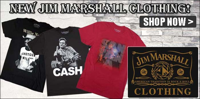 Wholesale Jim Marshall Clothing Band T-Shirts
